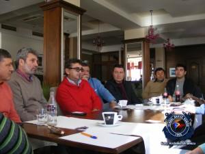 1.Primele negocieri cu partenerii de la Balchik alături de Angel Lingorski  pentru Regata Internaţională Poseidon Kaliakria Cup - The Black Sea Regatta -Balchik 7 decembrie 2013 9