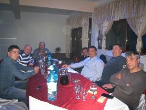 3.Noi decizii organizatorice şi  botezul - Regata Internaţională Poseidon-Kaliakria Cup Techirghiol Restaurant Dromas 28 martie 2014 0608