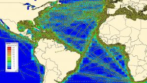 Fig. 2 - monitorizarea globala a EU LRIT DC