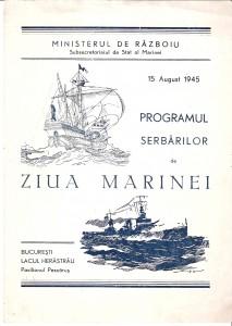 Programul Zilei Marinei 1945