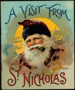 A visit fron St Nick