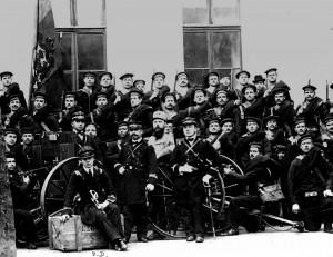 compania marinarilor de pe crucisatorul elisabeta debarcata la constantinopol in noiembrie 1912.