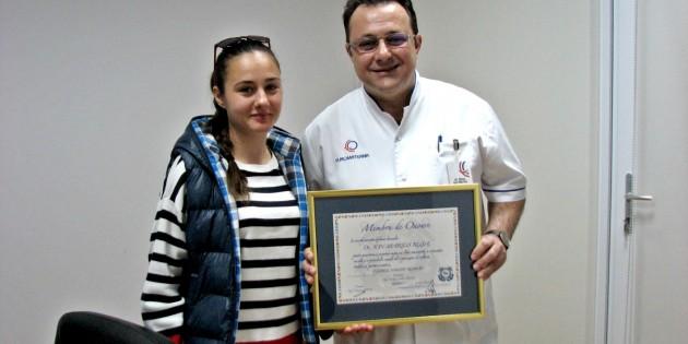 Dr. Ion Ruşa – noul membru de onoare al Clubului Nautic Român
