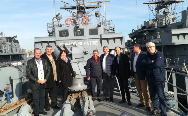 Rememorând Revoluţia Română petrecută pe mare, cu echipajul Dragorului Maritim 29